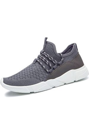 Newchic Men Shoes - Men Knitted Running Shoes