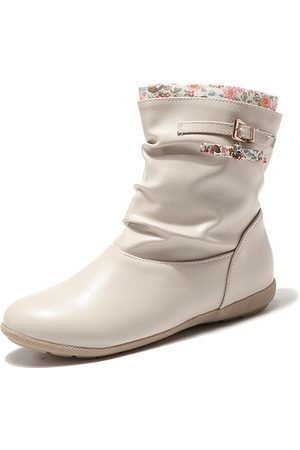 Newchic Buckle Short Ankle Boots
