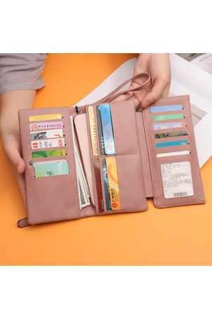 Newchic PU Leather Long Wallet