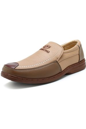 Newchic Men Color Blocking Loafers