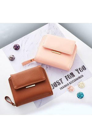 Newchic Women Girl Candy Color Small Wallet