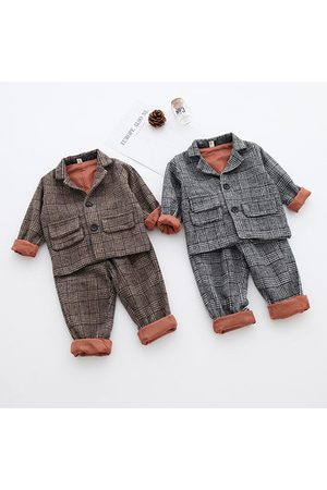 Newchic 2Pcs Kids Wedding Blazer Suit