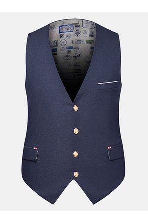 Newchic Business Casual Slim Fit Vest