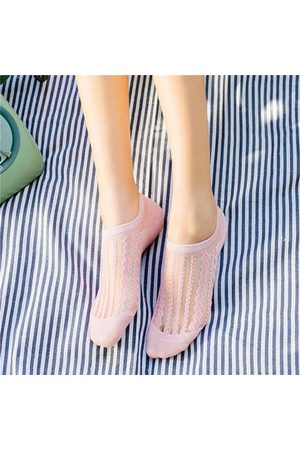 Newchic Transparent Breathable Boat Socks