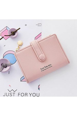 Newchic Candy Color Student Small Short Wallet