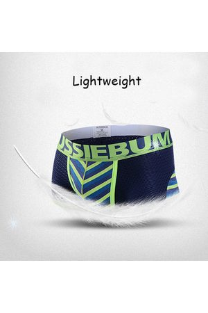 Newchic Striped Mesh Breathable Boxers