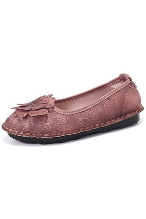 Newchic Flower Soft Comfortable Loafers