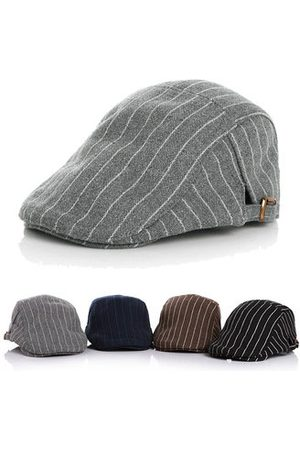Newchic Girls Hats - Kids Boy Girl Hat Stripe Gatsby Cap