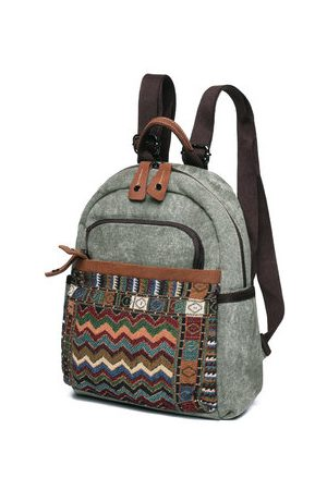 Newchic Brenice Vintage Printing Backpack Chinese Style Girls Bags