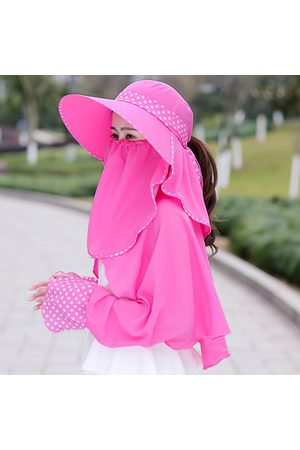 Newchic Bucket Hat With Shawl Removable Mask