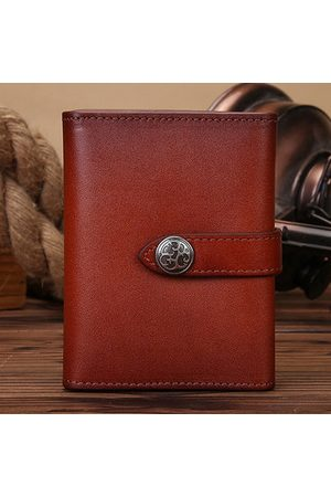 Newchic Vintage Genuine Leather 18 Card Slots Card Holder Wallet