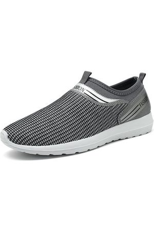 Newchic Men Large Size Breathable Soft Sole Hiking Casual Shoes