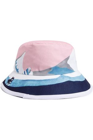 Newchic Anti-UV Protection Oil Painting Bucket Hat