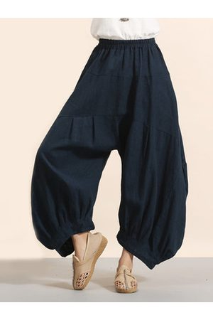 Newchic Irregular Pure Color Women Pants