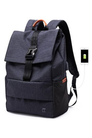 Newchic TANGCOOL USB Port Backpack Casual Business Laptop Bags