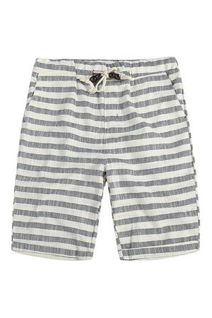 Newchic Summer Breathable Striped Casual Shorts