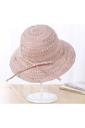 Newchic Round Top Bucket Cap Spot Decorative Summer Visor Cap