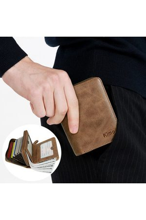 Newchic Genuine Leather Business 2 In 1 Card Holder Wallet