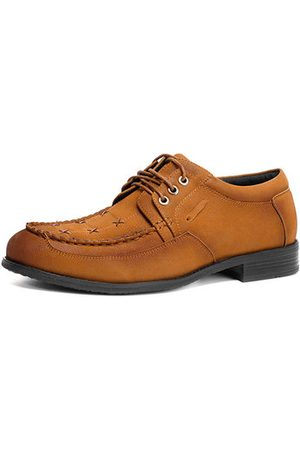 Newchic Men Microfiber Leather Large Size Casual Shoes
