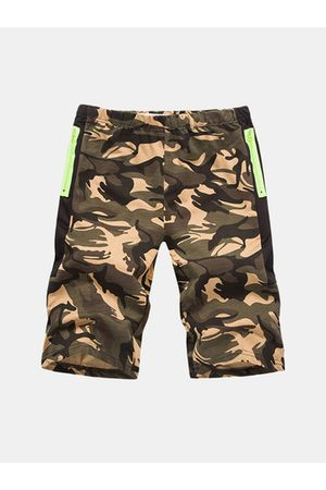Newchic Men Shorts - Camouflage Casual Running Sport Shorts