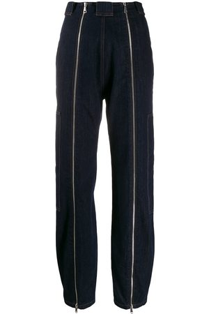 KATHARINE HAMNETT LONDON Women Tapered - High rise zipper jeans