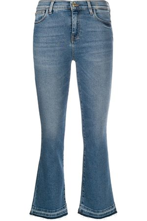 Twin-Set Raw-hem cropped jeans