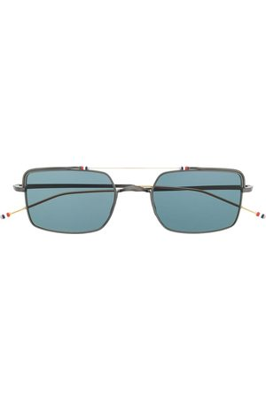 Thom Browne Aviator square sunglasses
