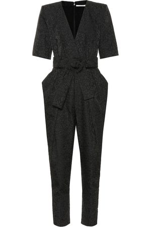 Stella McCartney Women Jumpsuits - Exclusive to Mytheresa – Leopard-jacquard jumpsuit