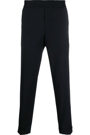 Filippa K Terry cropped slim-fit trousers