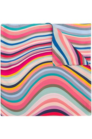 Paul Smith Wave stripe scarf