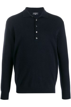 N.PEAL Buttoned cashmere polo shirt