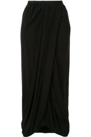 Giambattista Valli Silk gathered skirt
