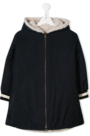 YVES SALOMON Reversible shearling lined coat