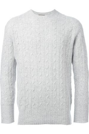 N.PEAL The Thames' cable knit jumper