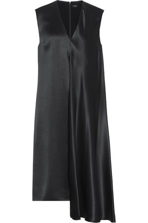 Joseph Silk-satin midi dress