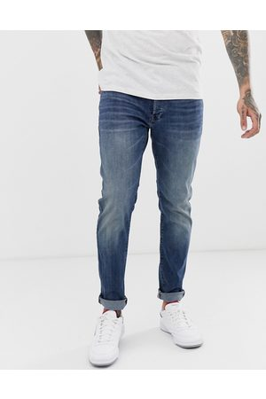 G-Star 3301 slim fit jeans in medium aged