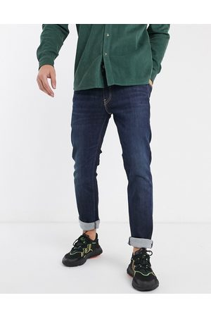 Levi's 511 slim fit jeans in biologia advance stretch dark wash
