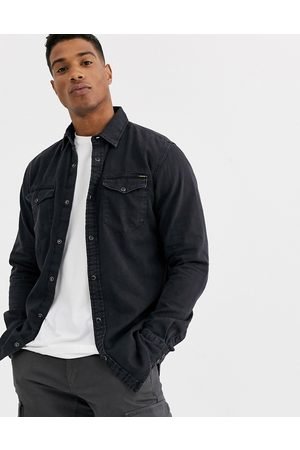 Jack & Jones Essentials denim shirt in