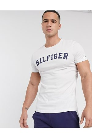 Tommy Hilfiger Logo lounge crew neck t-shirt in