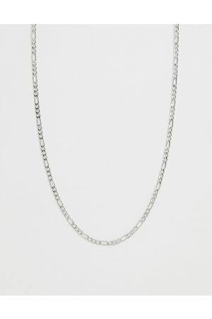 WFTW 3mm figaro chain necklace in