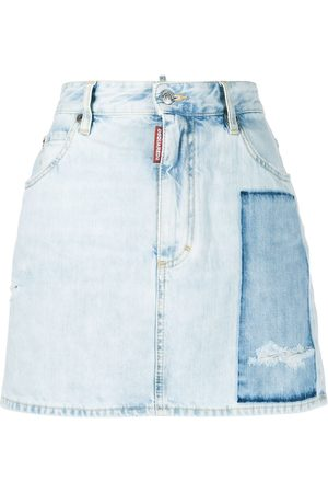 Dsquared2 Dalma patch denim skirt