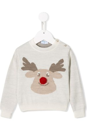 SIOLA Rudolph embroidered jumper