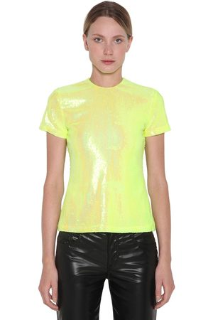 MM6 MAISON MARGIELA Sequined S/s Top