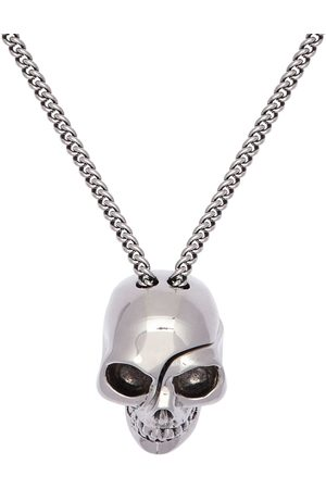 Alexander McQueen Men Necklaces - Chain Necklace W/ Divided Skull Charm