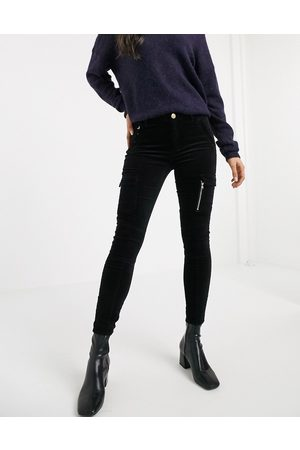 River Island Corded mom jeans in