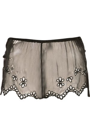 Kiki de Montparnasse Sheer lace shorts