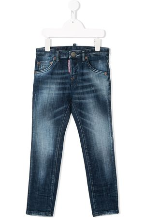 Dsquared2 Faded slim-fit jeans