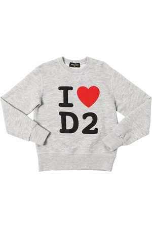 Dsquared2 Printed Cotton Sweatshirt