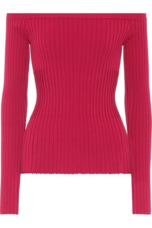 Altuzarra Off-the-shoulder ribbed sweater