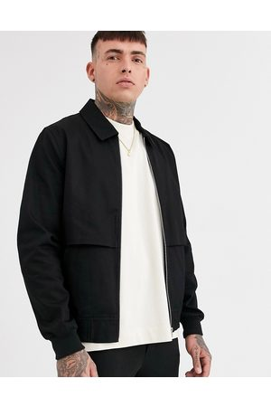 ASOS Co-ord harrington jacket with storm vent in